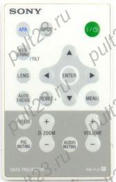 SONY RM-PJ5, VPL-CX21, VPL-CX63, VPL-CX100, VPL-CX120, VPL-CX150