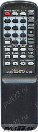 SHERWOOD RM-105, RD-6105, RD-6108, RD-6500