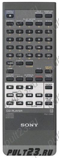 SONY RM-D991, CDP-915, CDP-915E, CDP-X333ES, CDP-X555ES